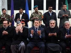 В Афганистане отдали дань уважения погибшим солдатам
