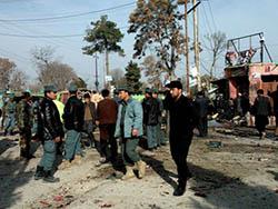 Террорист-смертник убил 15 человек на афганском рынке