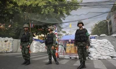 Военный переворот в Тайланде