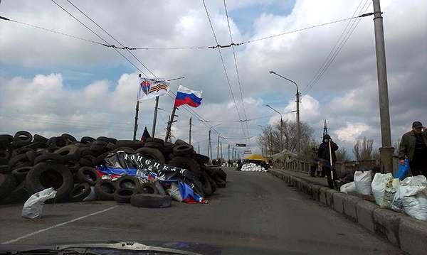 В Славянске снова бои
