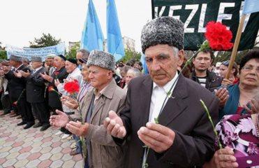 Митинг татар