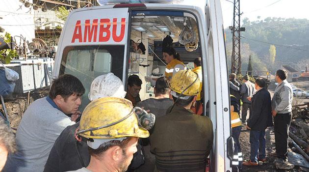 Спасательные работы на угольной шахте