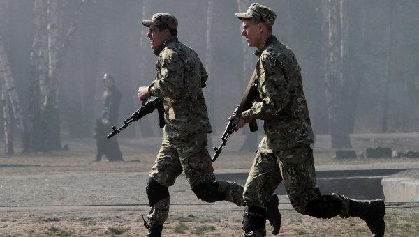 вооруженные люди в киевской области