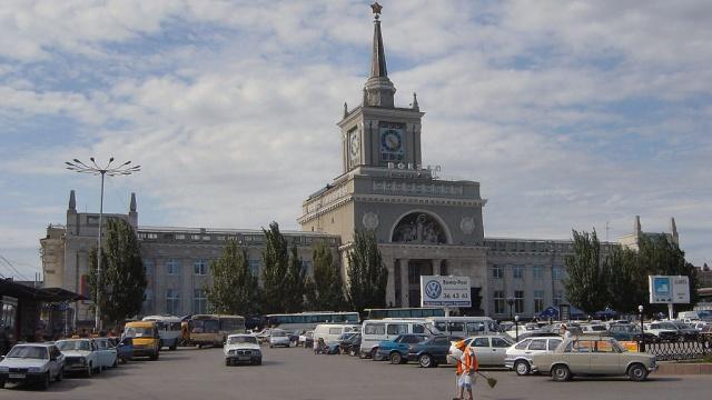 В Волгограде открыли вокзал, отреставрированный после теракта.