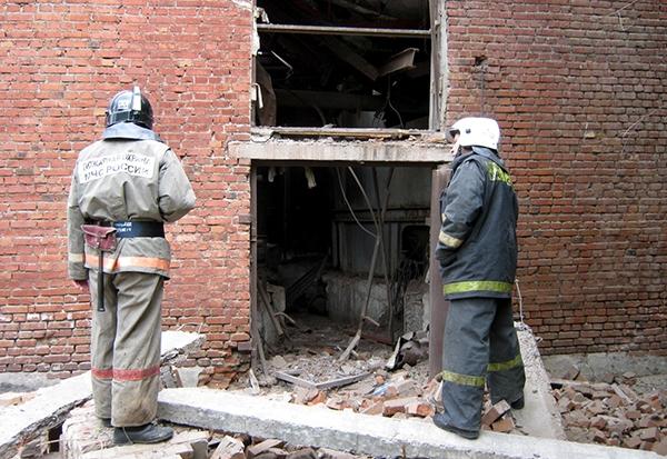 Взрыв химкомбаната в Красноярске