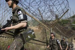 Пограничник в Южной Корее