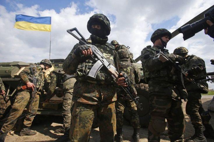 Украинские силовики контрнаступление