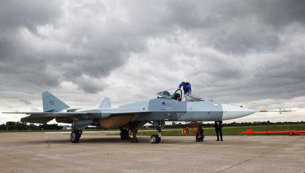 ЧП с самолетом Т-50