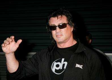 Sylvester Stalone Arrives In Sydney